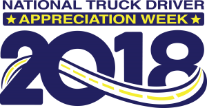 National Truck Driver Appreciation Week 2018 Official Logo