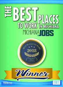 Best Places to Work in Michiana Decal - Company Culture