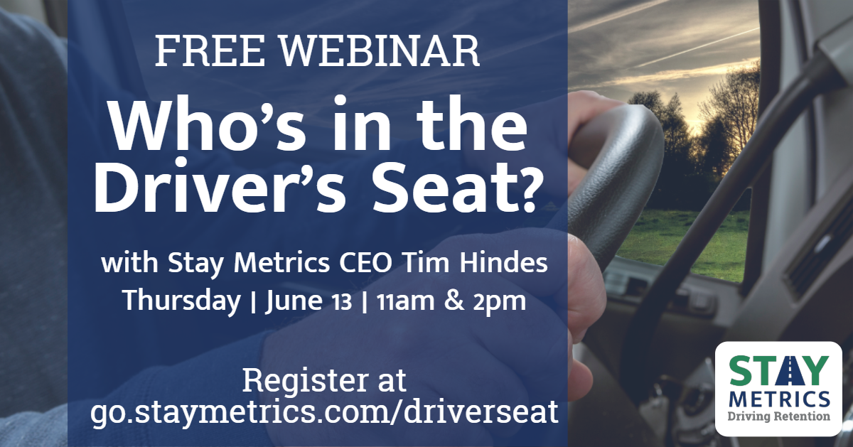 Who's in the Driver's Seat? Webinar