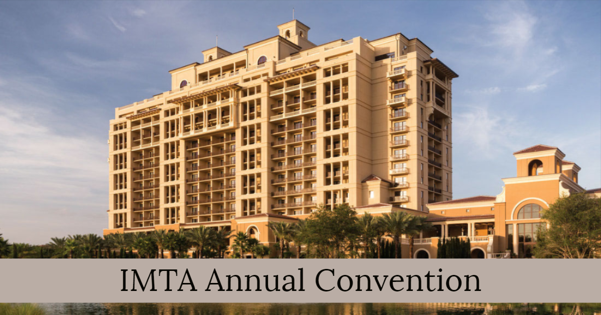 Hotel where IMTA Convention is taking place