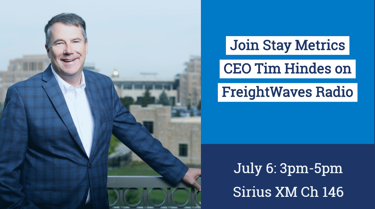 Tim Hindes on FreightWaves Radio