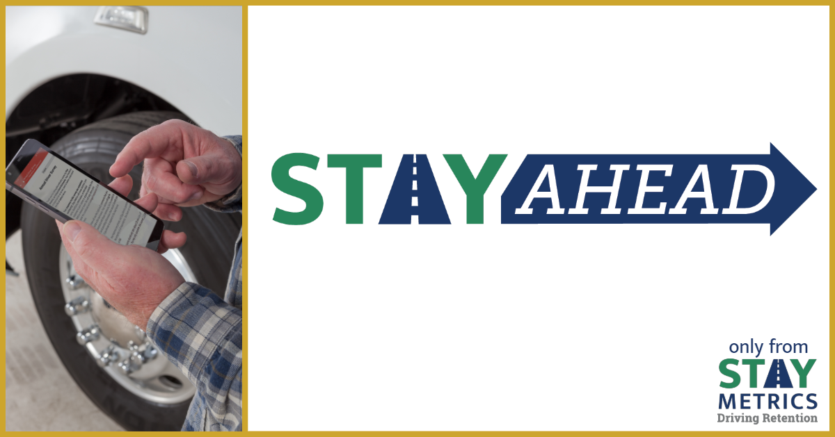 Stay Ahead logo