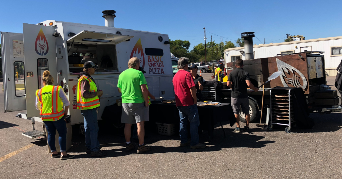 Driver Appreciation Week celebration at Navajo Express. Strategy is to bring in food trucks.