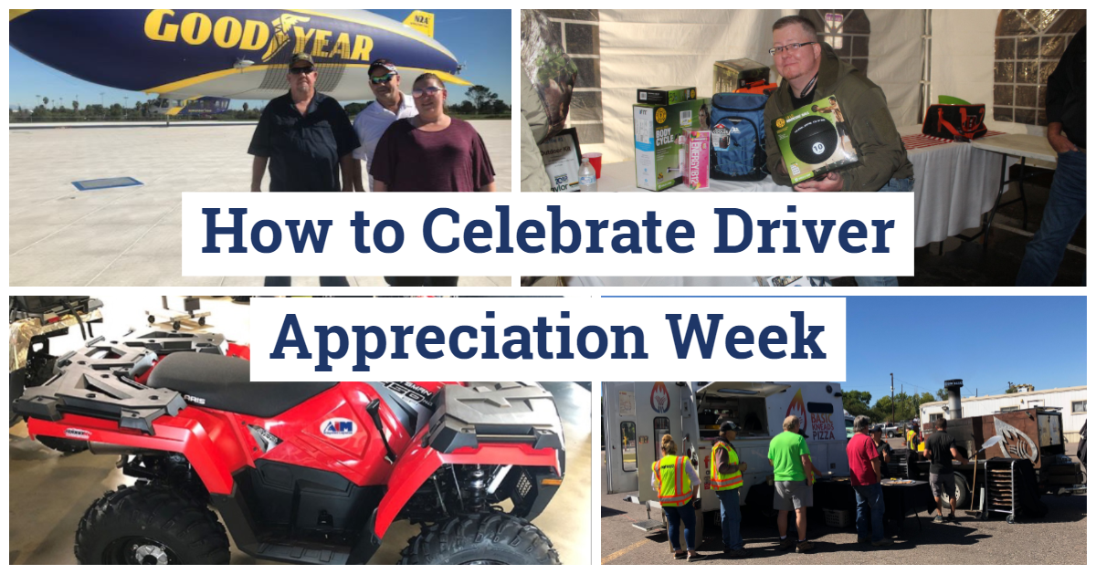 How to Celebrate Driver Appreciation Week Collage
